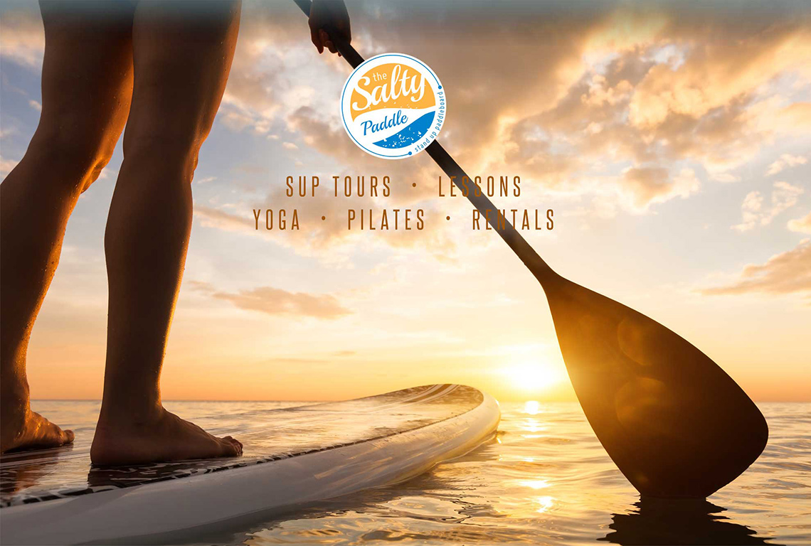 The Salty Paddle Into The Sunset